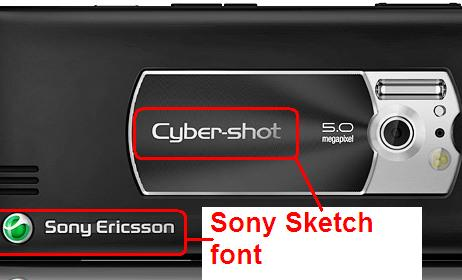 Sony Custom Font Web Server Server